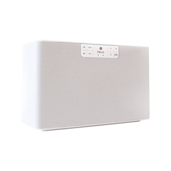BLOCK BLOCK C MULTIROOM SPEAKER WHITE