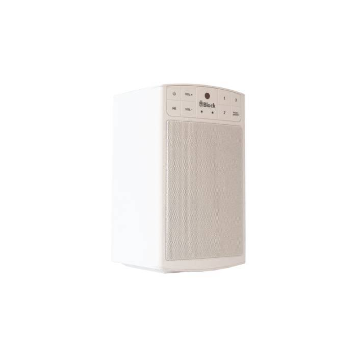 BLOCK BLOCK A MULTIROOM SPEAKER WHITE