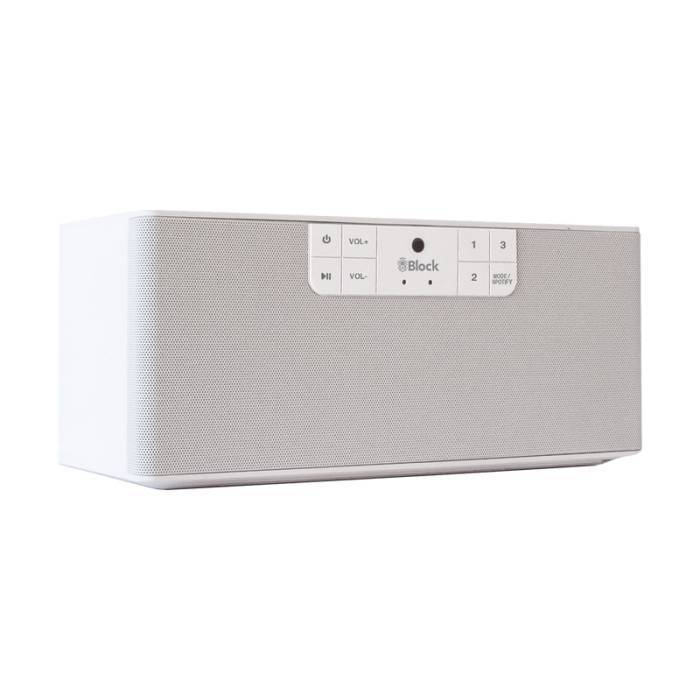 BLOCK BLOCK B MULTIROOM SPEAKER WHITE