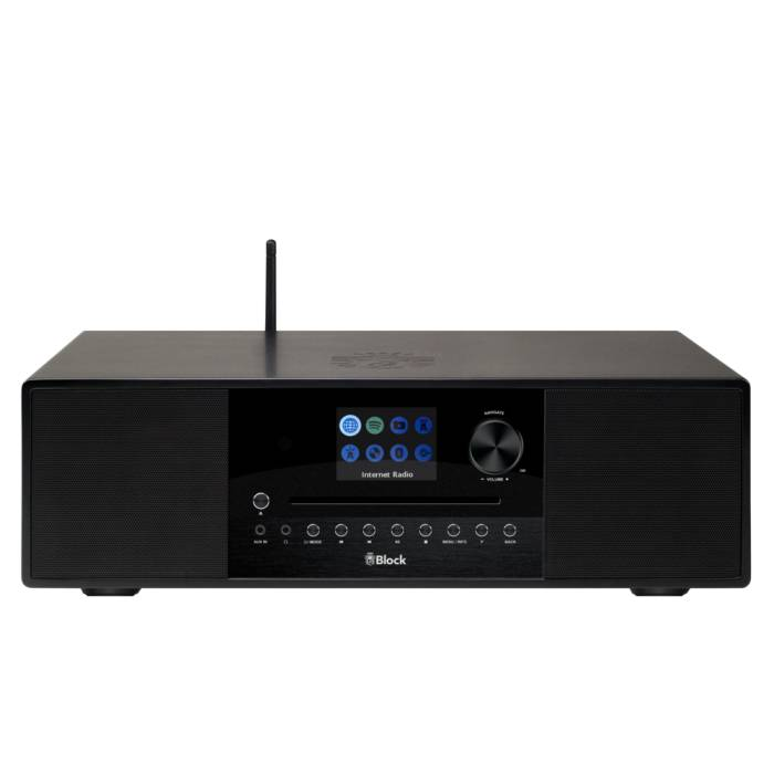 BLOCK SR-200 SMARTRADIO WITH SUBWOOFER