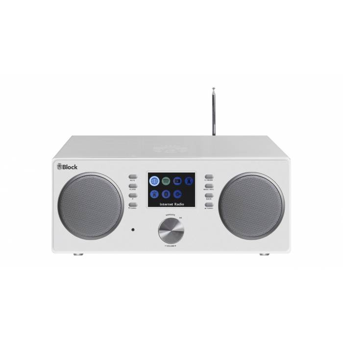 BLOCK CR-20 CONNECTED RADIO WHITE