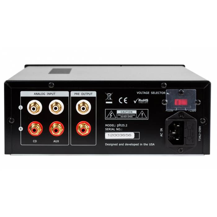 Music Hall - ph25.2 - headphone preamp - Black