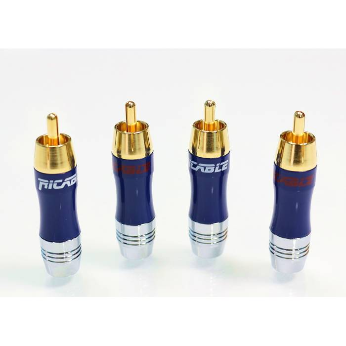 Ricable Custom RNU - Kit 4 pcs. Welding RCA Connectors