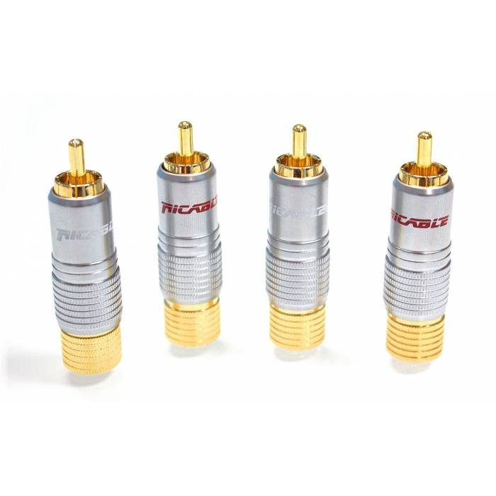 Ricable Custom RNH - Kit 4 pcs. Welding RCA Connectors