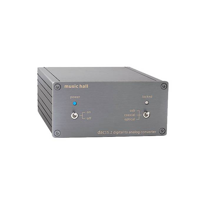 Music Hall - dac usb 15.2 (Silver)