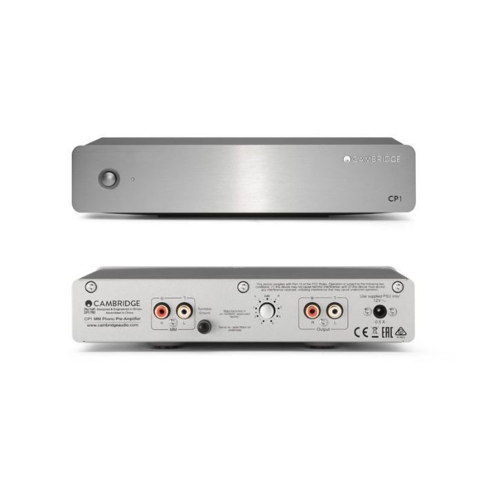 CAMBRIDGE AUDIO CP-1 silver
